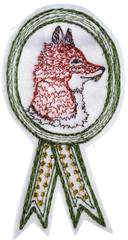 Foxy Badge by Coral and Tusk