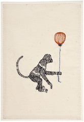 Monkey Card by Coral and Tusk