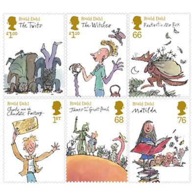 Roald Dahl Stampset