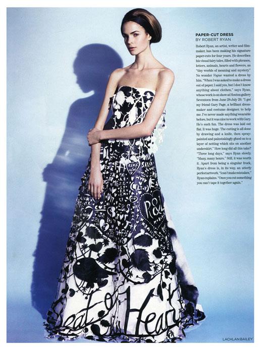 Rob Ryan Vogue Dress