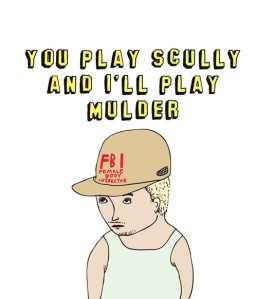 Able and Game 'You Play Scully and I'll Play Mulder'