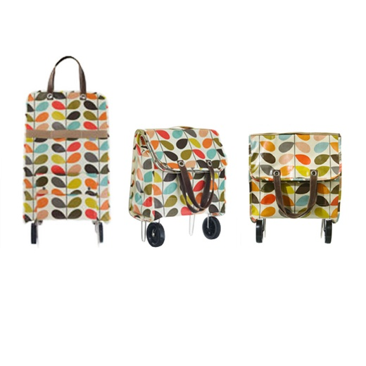Image of Orla Kiely Shopping Trolley