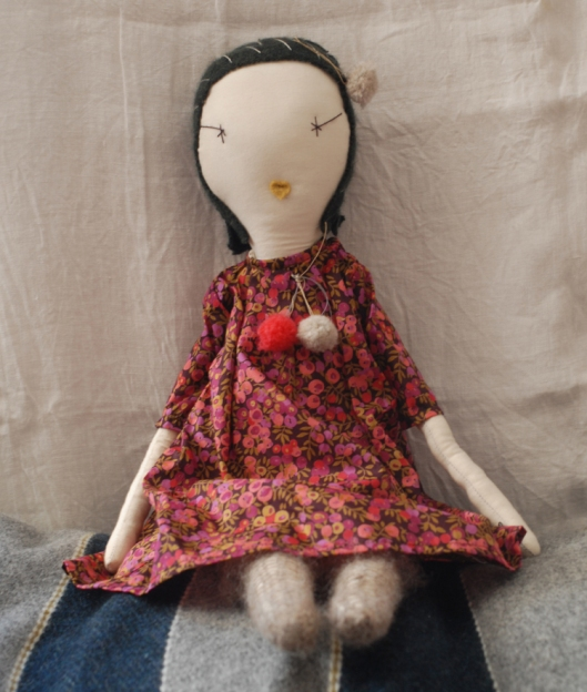 Jess Brown Doll Image