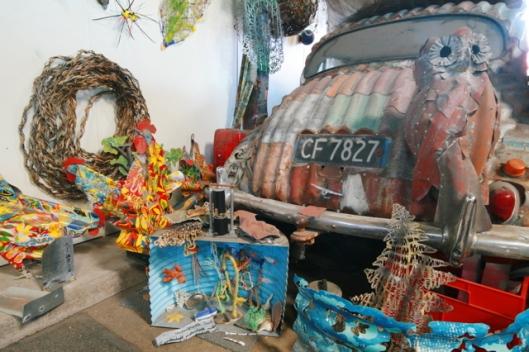 Image of Jeff Thomson's studio