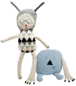 Lucky Boy Sunday Pale Nulle and Danny Blue Soft Toys