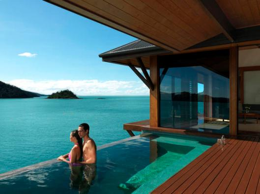 Image of private pool at Qualia