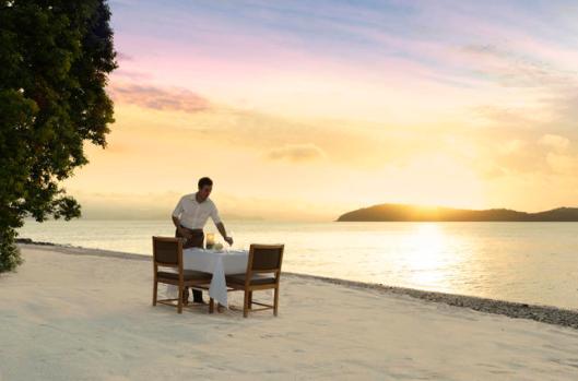 Image of Waiter on Pebble Beach