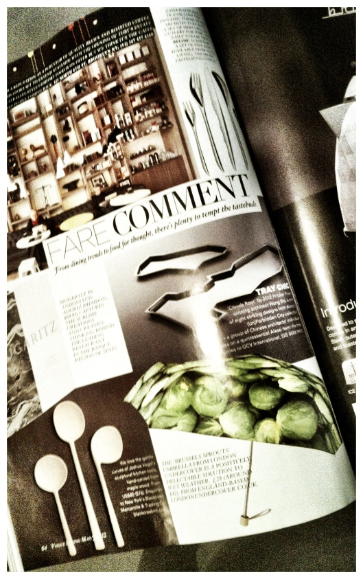 Image of London Undercover Brussel Sprout Umbrella in Vogue