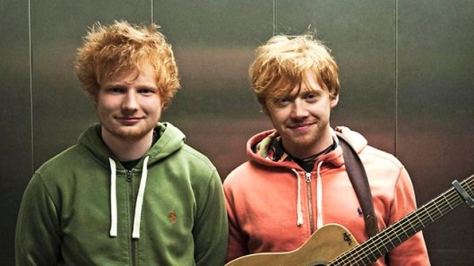 Image of Ed Sheeran & Rupert Grint