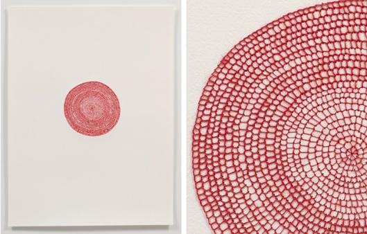Untitled Big Circle by Emily Barletta