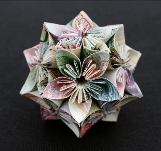 Image of Kristi Malakoff Polyhedra Series 'Honeysuckle'