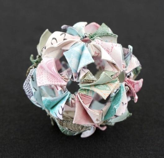 Image of Kristi Malakoff Polyhedra Series 'Iraqi Bloom'
