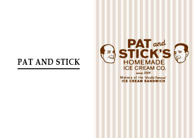 Pat and Stick Logo