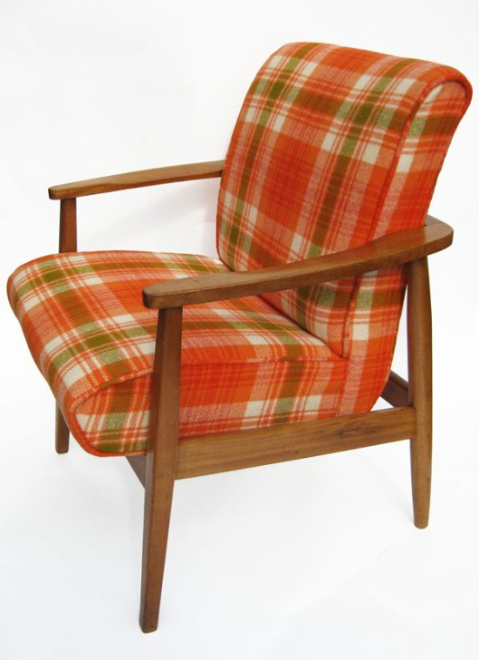 Image of Revival Furniture Orange Chair