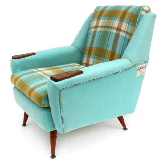 Image of Revival Furniture Turquoise Chair
