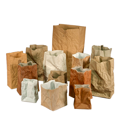 Image of Paper Bag Vase Collection