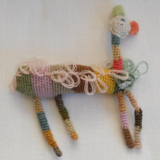 Image of Sophie Digard 'Alpaca' Brooch
