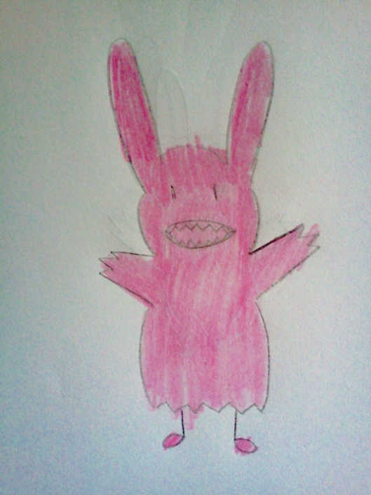 Image of Bunny drawn by Eileen