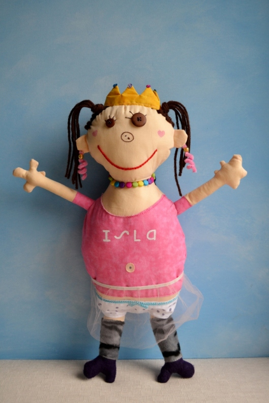 Image of Isla's doll by Child's OWn Studio