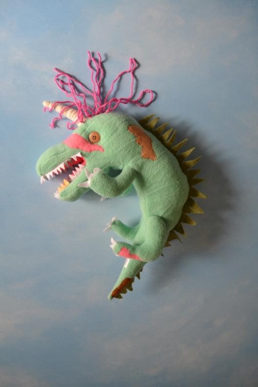 Image of Rowan's softie 'Mud' by Child's Own Studio