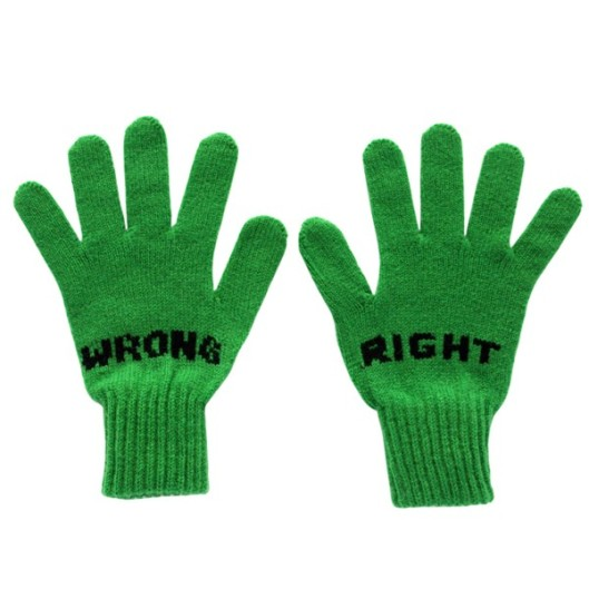 Donna Wilson 'Right Wrong Gloves' in Green