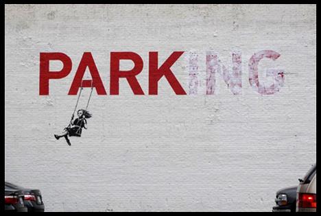 Image of Street Artist Banksy's 'Park'