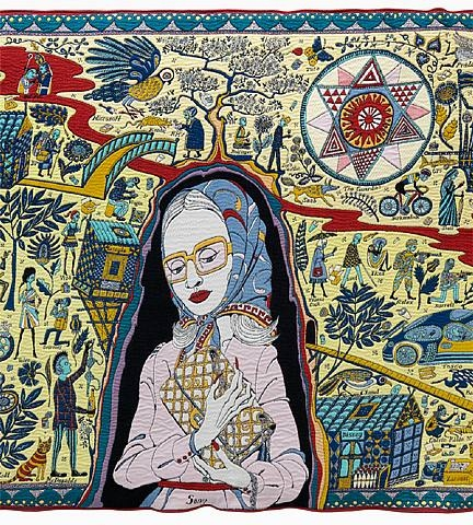 Detail from Grayson Perry's Walthemstow Tapestry