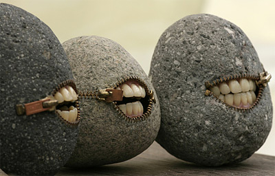 3 Laughing Stones by Hirotoshi Ito