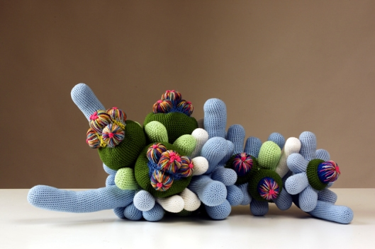 Image of Luisa De Santi's Creatura Vegetale Azzurra