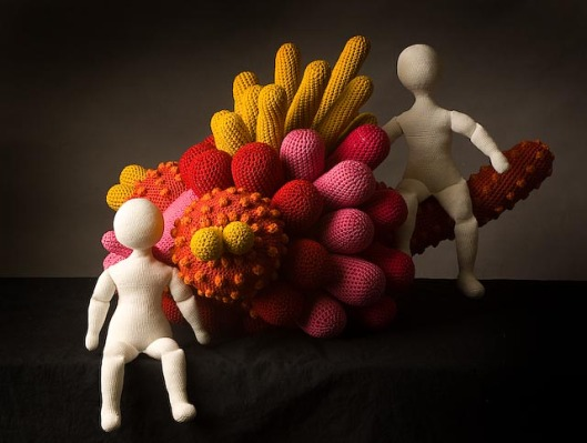Image of Luisa De Santi's Creatura Vegetale 03 Rossa