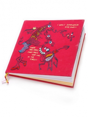 Image of Paschbeck Fummel + Kram Notebook in Pink