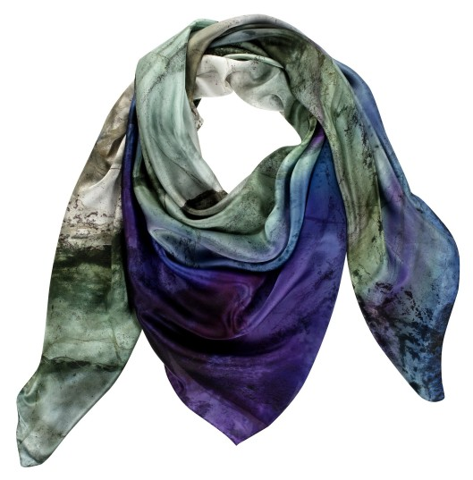 Image of Weston Fluorite Silk Scarf