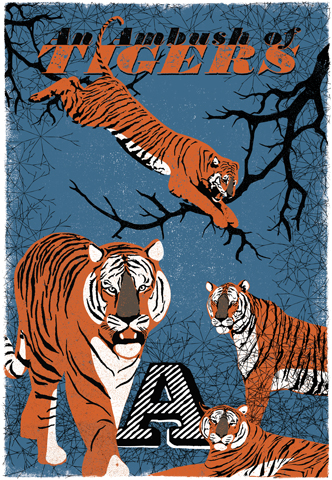 Image of Woop Studio's 'Ambush of Tigers'