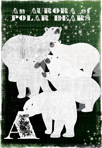 Image of Woop Studio's 'Aurora of Polar Bears'