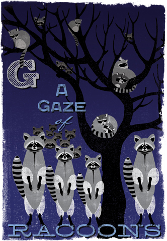 Image of Woop Studio's 'Gaze of Racoons'