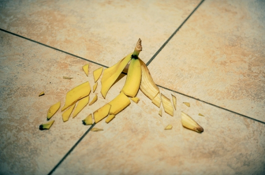 'Shattered Banana Peel' by Brock Davis