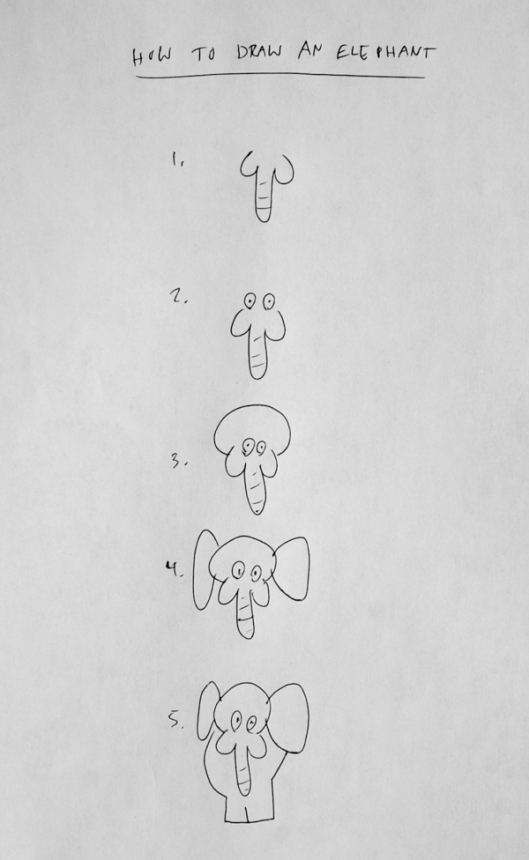 'How to Draw an Elephant' by Brock Davis