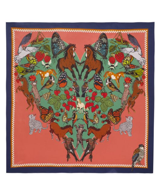 I Love Everything Silk Scarf by Silken Favours