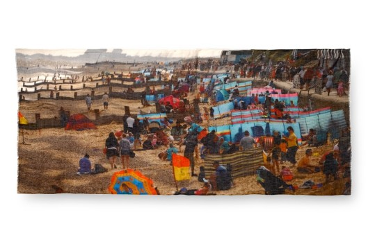 'Eastbourne Beach- scarf by Lily and Lionel