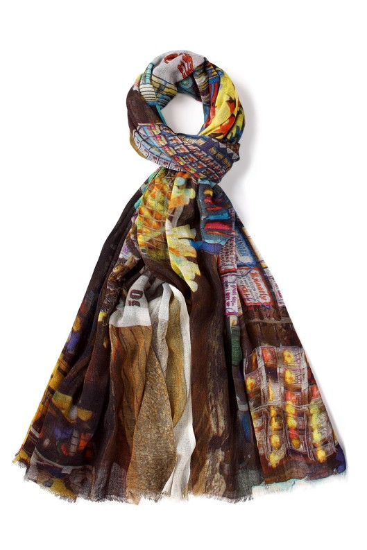 'Gift Shop' scarf by Lily and Lionel