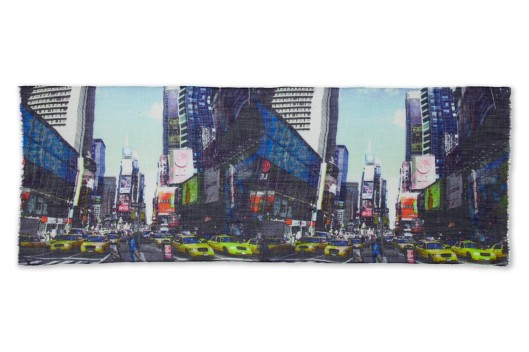 'New York Cityscape' scarf by Lily and Lionel