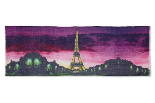 'Paris by Night' scarf by Lily and Lionel