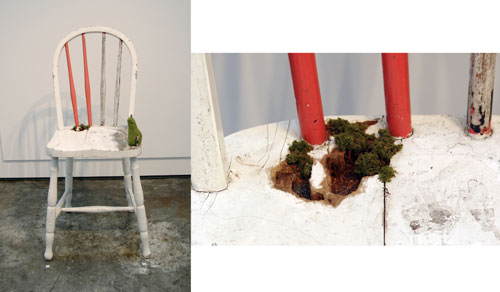 'White Dining Chair' by Mylyn Nguyen