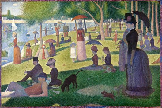 'A Sunday on La Grande Jatte' by Georges Surat