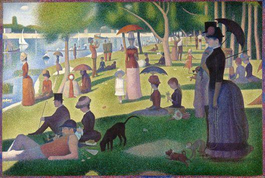 'A Sunday on La Grande Jatte' by Georges Surat