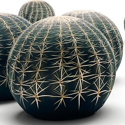 Cactus Stool Tato Tattoo by Cerruti Baleri