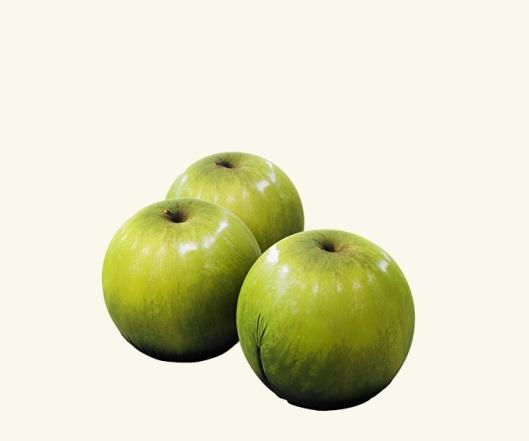 Green Apple Stool Tato Tattoo by Cerruti Baleri
