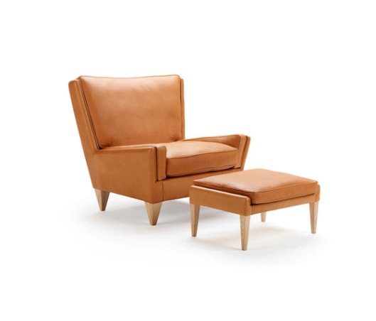 Wikkelso V11 Easy Chair and Footstool
