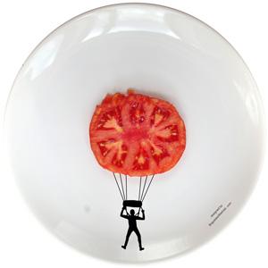 Sport Ceramic Plate by Boguslaw Sliwinski