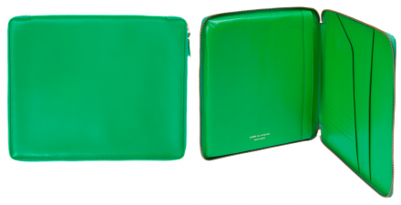 CDG Wallet iPad Case (Green SA0203)